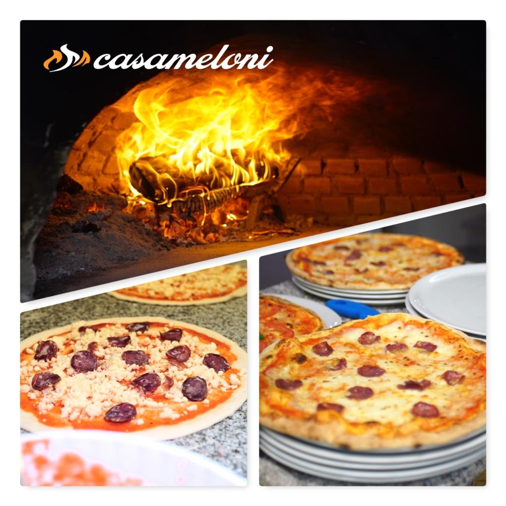 Pizza con salsiccia sarda secca... una delizia isolana   Casameloni Pizzeria e Barbecue