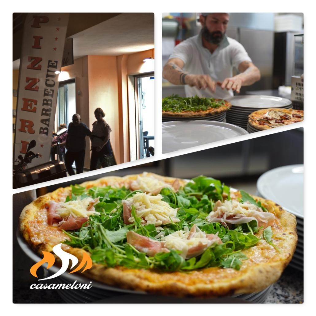 Una rucola grana e crudo così... solo da CasaMeloni Pizzeria e Grill a Villasimius