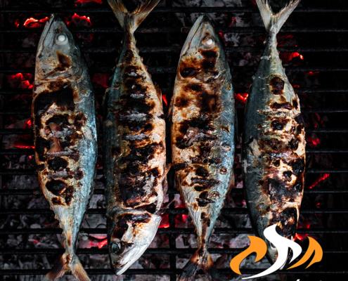 Pesce fresco locale cotto alla brace   Casa Meloni Pizzeria e Grill a Villasimius